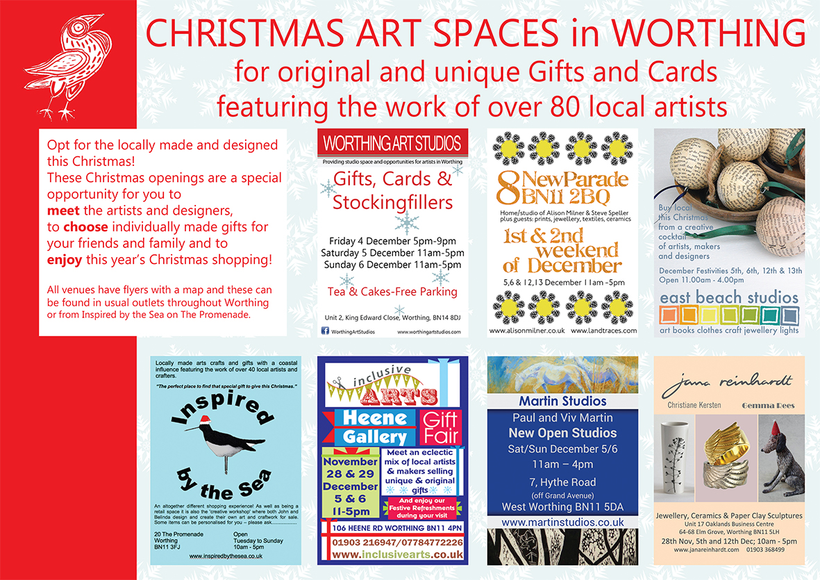 Christmas Art Spaces Flyer